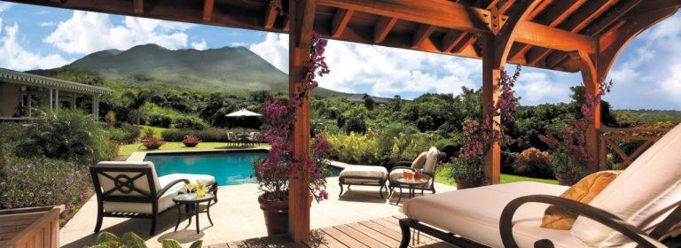 Pool deck & lounge verandah area