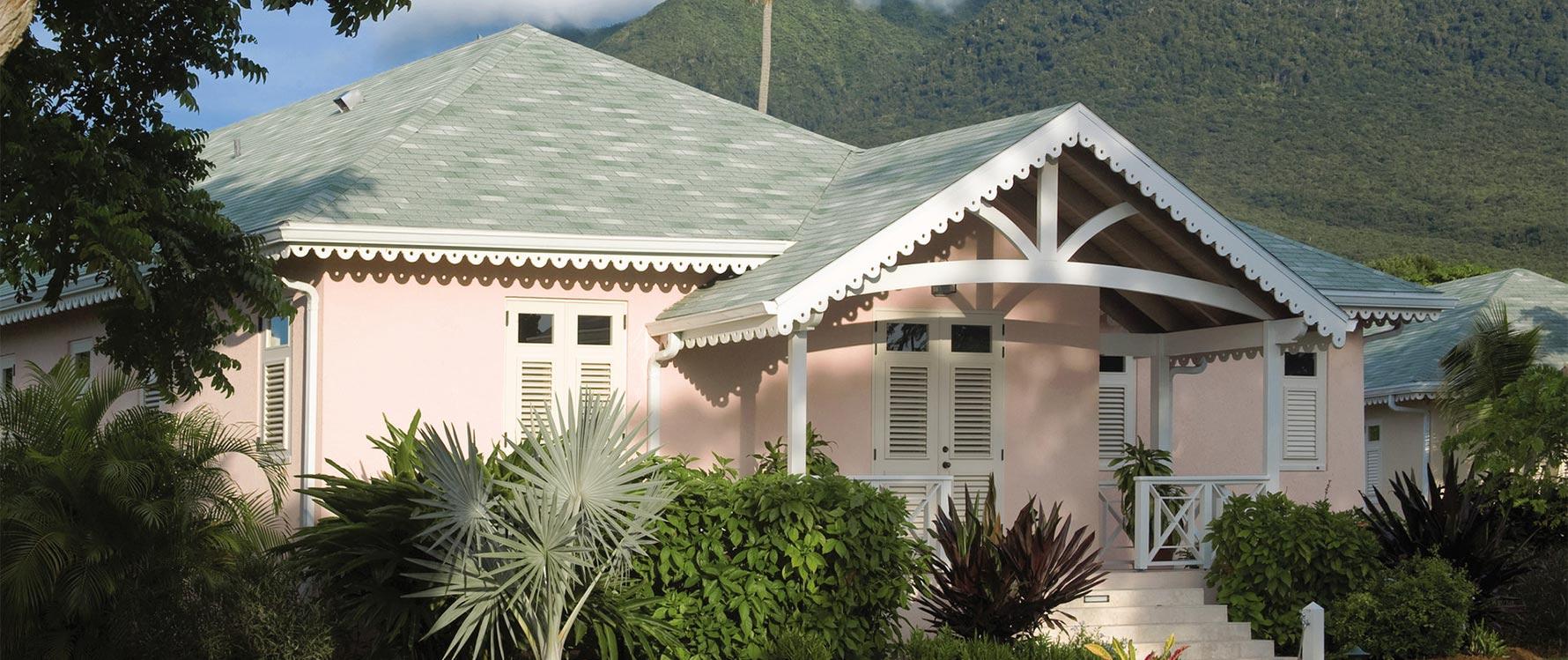 Entry with Nevis Peak