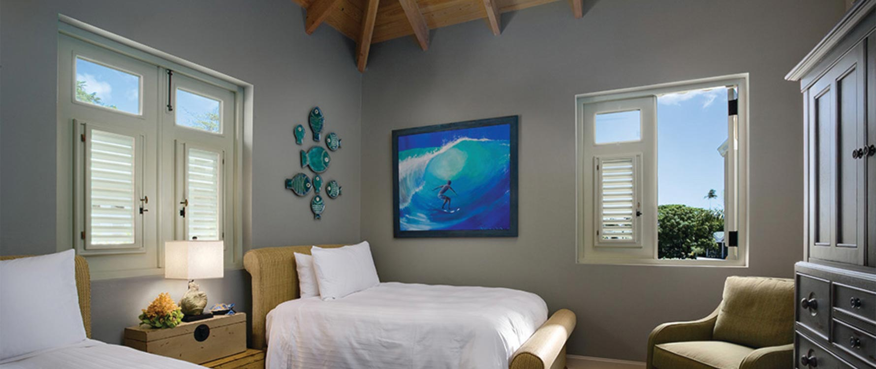 Guest bedroom (two doubles)
